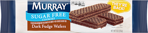 Murray® Sugar Free Dark Fudge Wafers