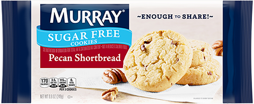 Murray® Sugar Free Pecan Shortbread Cookies