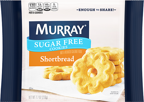 Murray® Sugar Free Shortbread Cookies